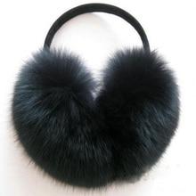 Winter Faux Fox Fur Warm Earmuff Fashion Cute Plush Folding Women Male Korean Big Hair Fur Keep Ear Warmers Wear Muffs Orejeras