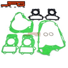 Motorcycle Complete Engine Cylinder Top End Crankcase Cover Overhaul Pad Gasket Set For YAMAHA XV125 XV 125 Virago(China)