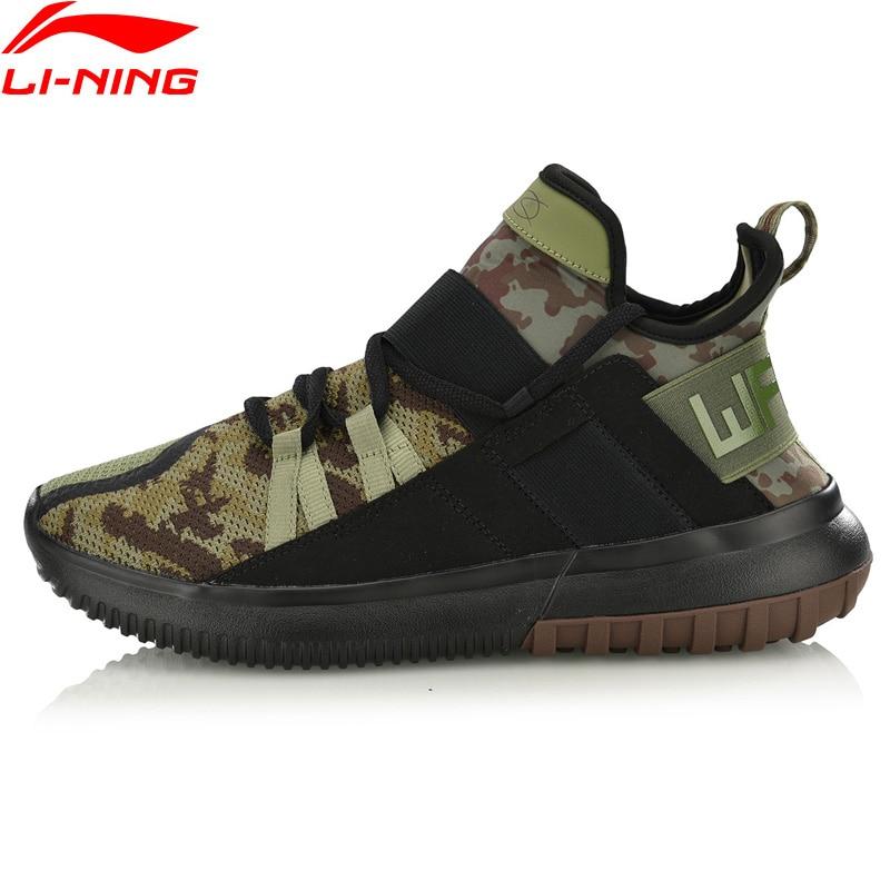 Li Ning Men CYBER PUNK WS Wade Leisure Shoes Wearable Mono Yarn Breathable LiNing Sport Shoes