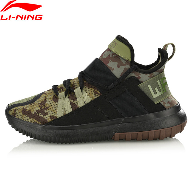 Li-Ning Men CYBER PUNK WS Wade Leisure Shoes Wearable Mono Yarn Breathable LiNing Sport Shoes Sneakers AGWN035 YXB218
