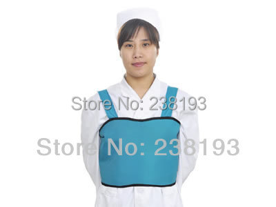 0.5mmpb x ray protection clothing, Woman breast protection,Chest Protection apparel,suit.