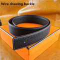 2017 Top H buckle belts for men/women High quality Genuine Leather Blet Luxury Famous Brand Original H Belt with Buckle+BOX
