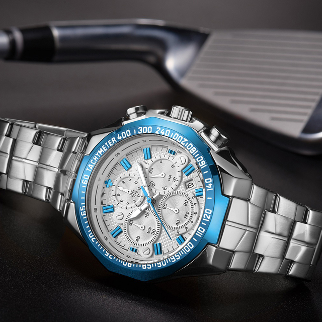 Luxury Brand Mens Watches Classic Fashion Chronograph