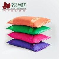 Korean Children Embroidered Buckwheat Pillow Core Cervical Vertebra Health Care Pillow Students Neck Pillow Infant Child Pillow