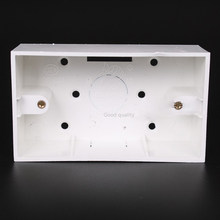 Model 118/120 Small Surface Installation Electrical Mounting Box 40mm PVC Wire Junction Boxes(China)