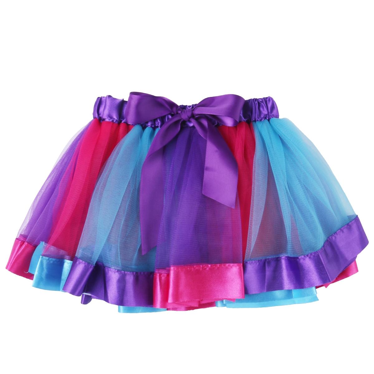 RüCksichtsvoll Uk Schöne Kinder Kleinkind Baby Mädchen Rock Regenbogen Tüll Mädchen Tutu Rock Party Ballett Dance Ballkleid