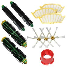 Brushes Kit for iRobot Roomba 500 Series Roomba 510 530 535 540 560 570 580 610 all Green Red Black cleaning head Parts