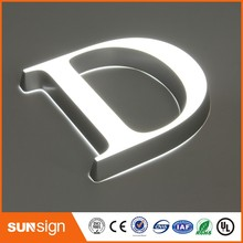 custom small size led acrylic mini letters double side lighted signs letters
