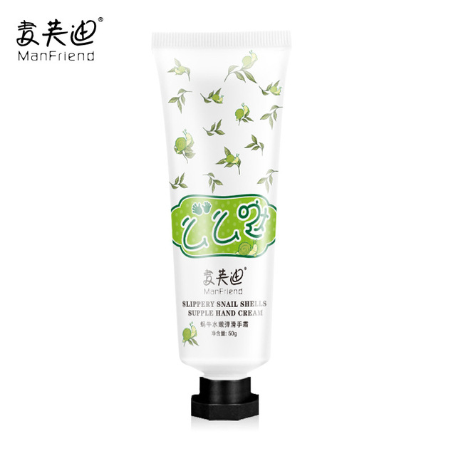 Whitening Moisturizing Snail Hand Cream Anti-Aging Hydrating Nourishing Anti-Chapping Antibacterial Improve Rough Hands Creams