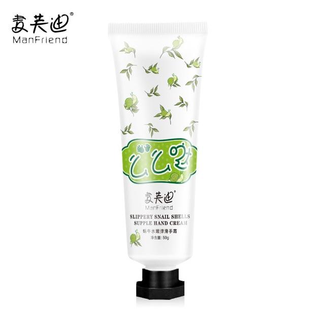 Whitening Moisturizing Snail Hand Cream Anti-Aging Hydrating Nourishing Anti-Chapping Antibacterial Improve Rough Hands Creams