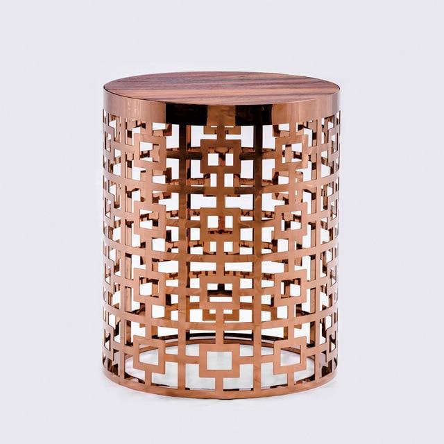 Aliexpresscom Buy Goolee Luxury Metal Gold Coffee Table With