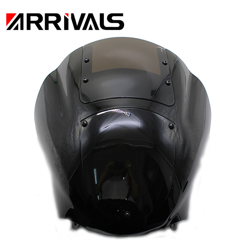 Headlight Fairing Motorcycle Harley Sportster FXR Dyna W/windshield Xl 1200 for ABS XL883N title=