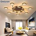 Современные креативные светодиодные люстры Omicron для спальни  гостиной  модная потолочная лампа  подвесная люстра для дома