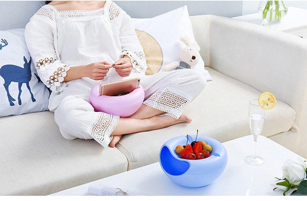 Пластик Творческий Форма чаша идеальный для семян орехи и коробка для хранения фруктов для присутствуют и ракушками Collective Организации