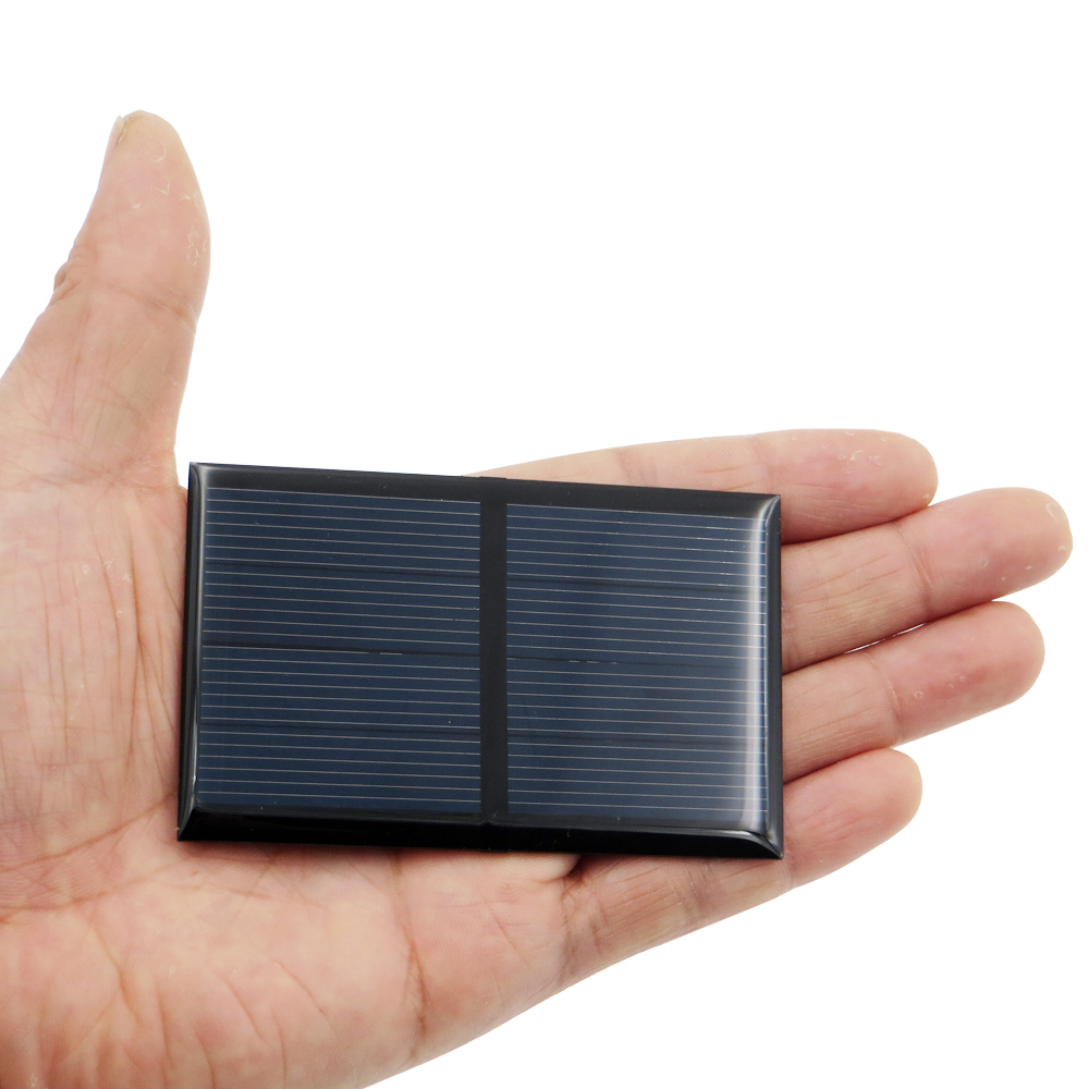 2V 300mA 0.6Watt Solar Panel Standard Epoxy Polycrystalline Silicon DIY Battery Power Charge Module Mini Solar Cell Toy