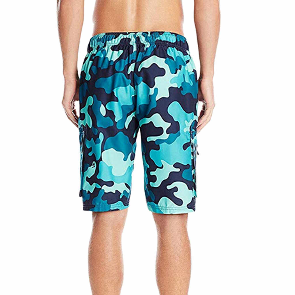 Męskie szorty plażowe szorty surfingowe sportowe spodnie plażowe męskie krótkie kąpielówki homme quick dry dla mężczyzn 2019 chłopcy stroje kąpielowe strój kąpielowy