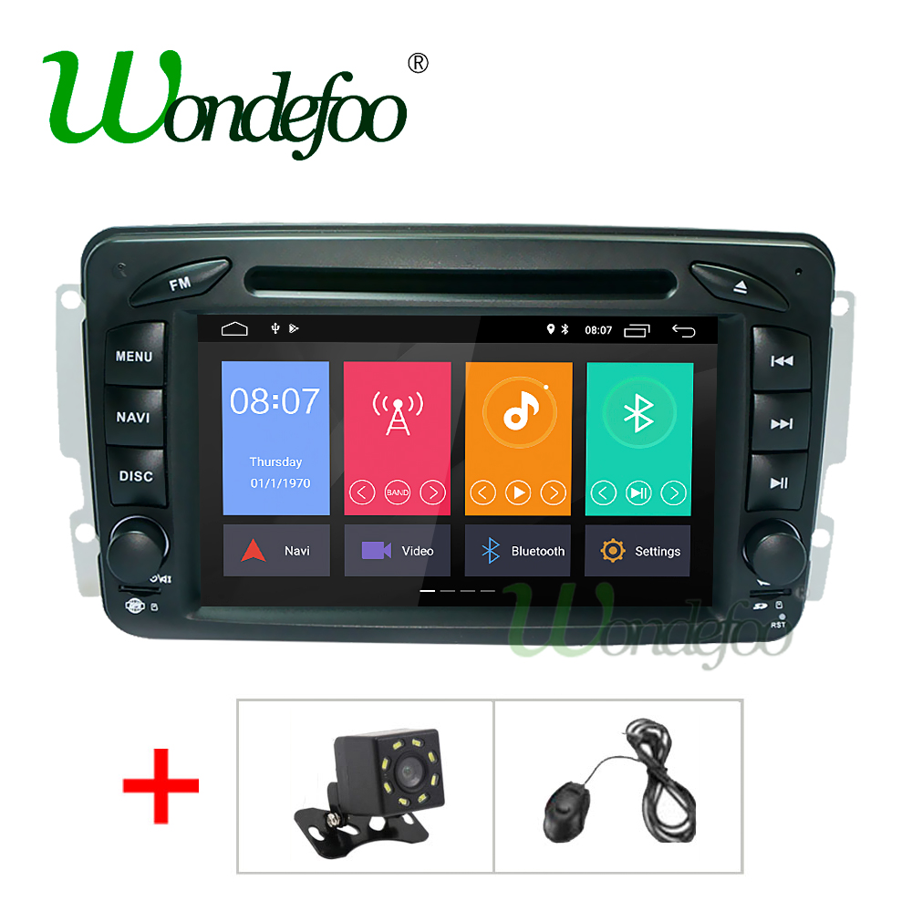 Liandlee 2 din Car Android For Mercedes Benz M W163 1997~2005 Radio