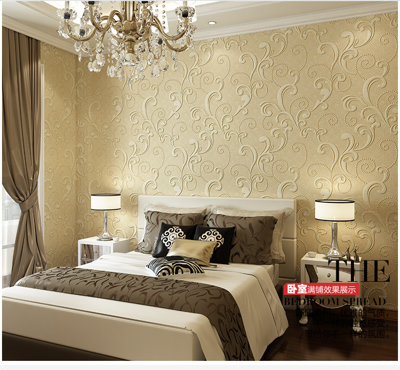 Tapiz para paredes beibehang en relieve en relieve de - Papel tapiz para paredes ...