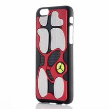 For iphone 6 case jordan shoe Black Hard Cover Case 3D Design For iphone 6 plus iphone case jordan 6S Back Cover