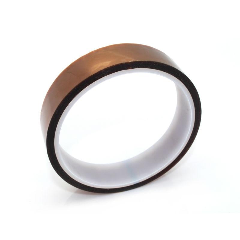 ANYCUBIC 20mm x 33 m Cinta Adhesiva de Alta Temperatura Poliimida Resistente Al