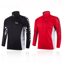 The New Man Outdoors Sports Long Sleeve Fishing Clothes Quick Dry Anti-UV Breathable Fishing Clothing
