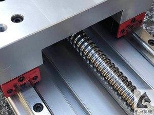 Image 4 - CNC Z ציר מפעיל 200mm נסיעות CNC נתב מפעיל, 3D מדפסת עם 1605 סוג פיר