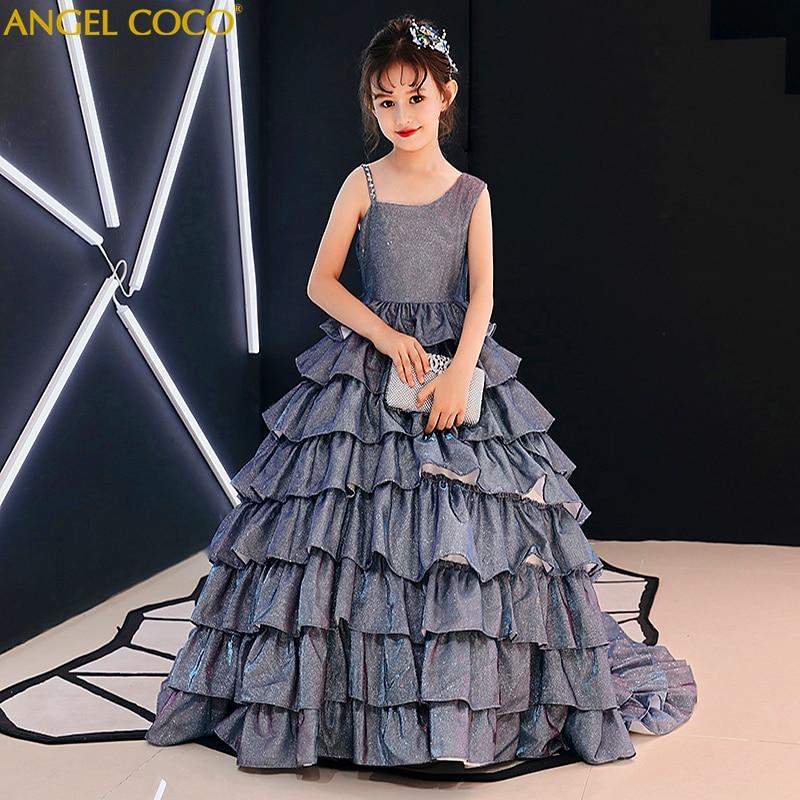 Gatsby Wedding Gown: Gorgeous Flower Girl Wedding Girl Dress Great Gatsby Gown