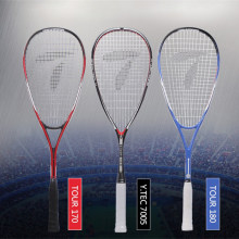 TELOON Professional Squash Racket With Bag Light Carbon Aluminum Speed Ball Rackets Beginner Advanced Sport Training Racquet(China)