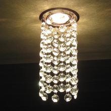 LED lustre lampy sufitowe kryształowe lampy sufitowe Lampy led w tym żarówki kryształ sufit sypialnia LED lustre na napięcie 90-260 V tanie tanio Nowoczesne Galwanicznie Foyer Łazienka Łóżko pokój Badania KİTCHEN Jadalnia Metrów 5-10square Żarówki led Aluminium