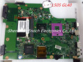 Para toshiba satellite l505 v000185030 gm45 integrado laptop motherboard 6050a2250301-mb-a03, intel chipset ddr2, 60 dias de garantia