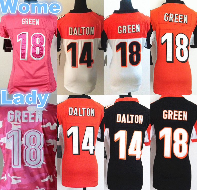 pink andy dalton jersey