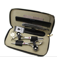 Smith Chu 6 0 Professional Hairdressing Scissors Hair Cutting Thinning Scissors Set Barber Shears High Quality
