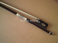 1 PC Quality Coffee Color Carbon Fiber Cello Bow 4/4 White Bow Hair