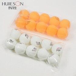 Huieson 10 unids/bolsa pelota de tenis de mesa profesional 40mm de diámetro 2,9g 3 estrellas pelotas de Ping Pong para entrenamiento de competición precio bajo
