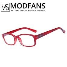 Fashion Reading Glasses Women Men Resin Eyewear Young Style design Square Frame Presbyopic 1 1.5 2 2.5 3 3.5 4
