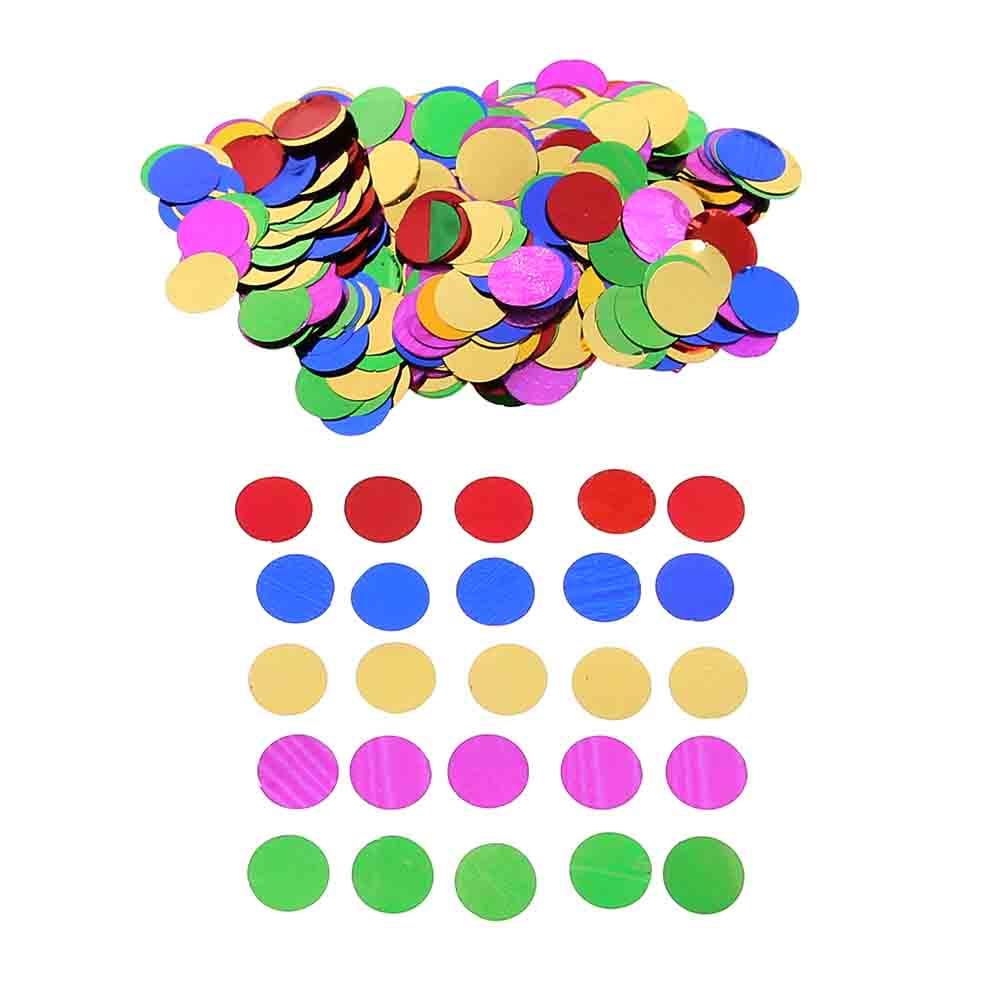 ᗜ LjഃMulti-color 10mm espumoso ronda boda confetti tabla Navidad ...