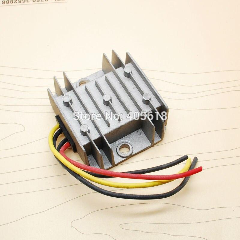 Высокая эффективность 60 Вт 12 В постоянного тока преобразователь 36 В до 12 В 5A 60 Wmax водонепроницаемый Малый размер для автомобилей неизолированный