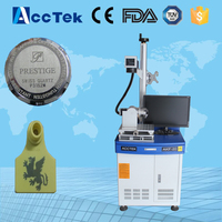 air cooling AK20F mini portable fiber laser marking machine colour marking/fiber laser marker
