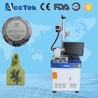 air cooling AK20F mini portable fiber laser marking machine colour marking/fiber laser marker