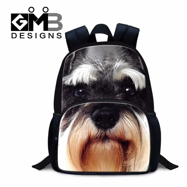 1d6321658435 Kids Back packs Animal Dog Pattern Kindergarten School Backpacks for Girls Little  Boys Mini Bookbag Cute