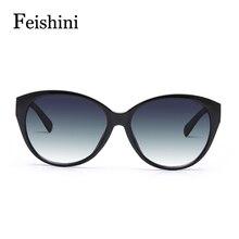 FEISHINI HOT fashion Prevent UV400CE PC Sexy Glasses Vintage Fashionable joker Sunglasses Women Brand Designer 2017