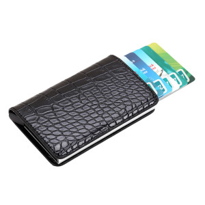 OCARDIAN Wallet Minimalist For Credit Cards High-Grade Neutral Crocodile Snake Skin Carbon Fiber Business Package A8(China)
