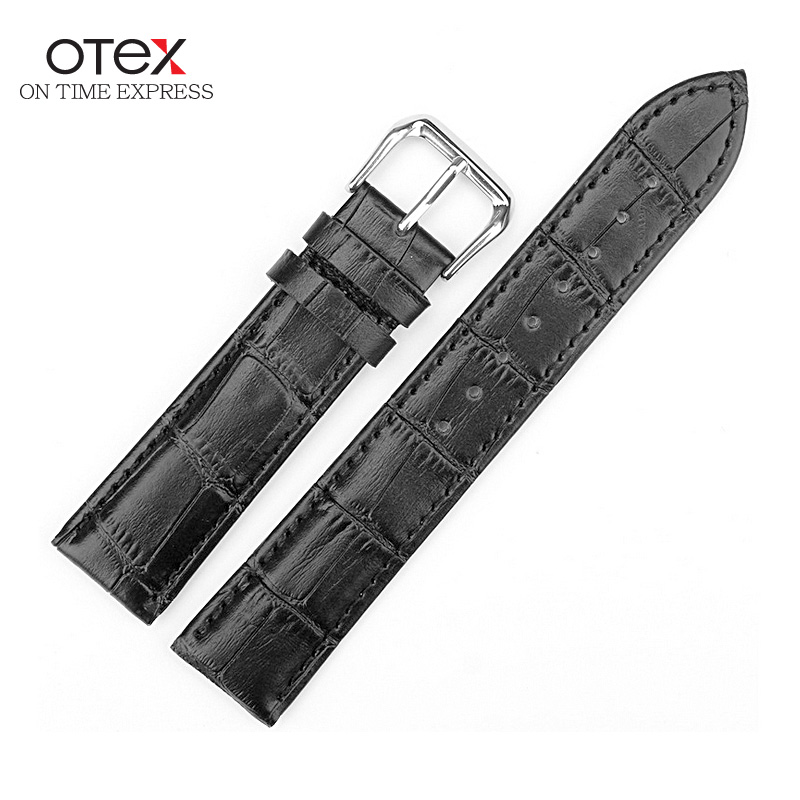 ot03 Watch Strap Genuine Leather Watch Band Women Men 12 13 14 16 18 19 20 21 22 24 mm foster the people foster the people torches