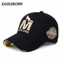 EB wholsale brand cap baseball cap fitted hat Casual cap gorras 6 panel hip hop snapback hats wolf cap for men women unisex