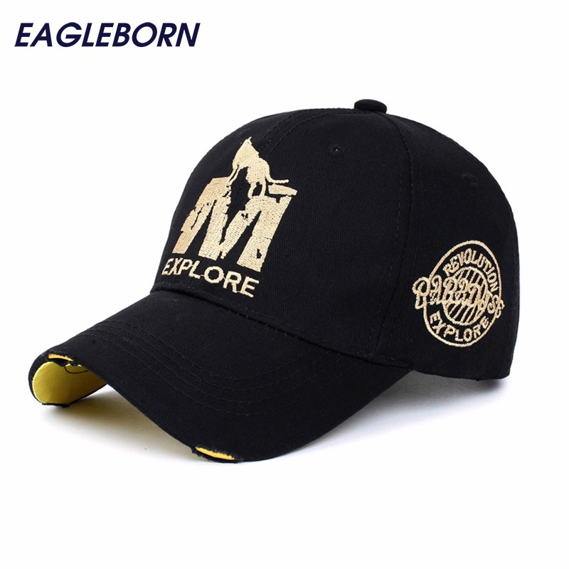 [EB] wholsale ماركة قبعة بيسبول مزودة قبعة عارضة قبعة gorras 6 لوحة الهيب هوب snapback القبعات الذئب قبعة للرجال النساء للجنسين