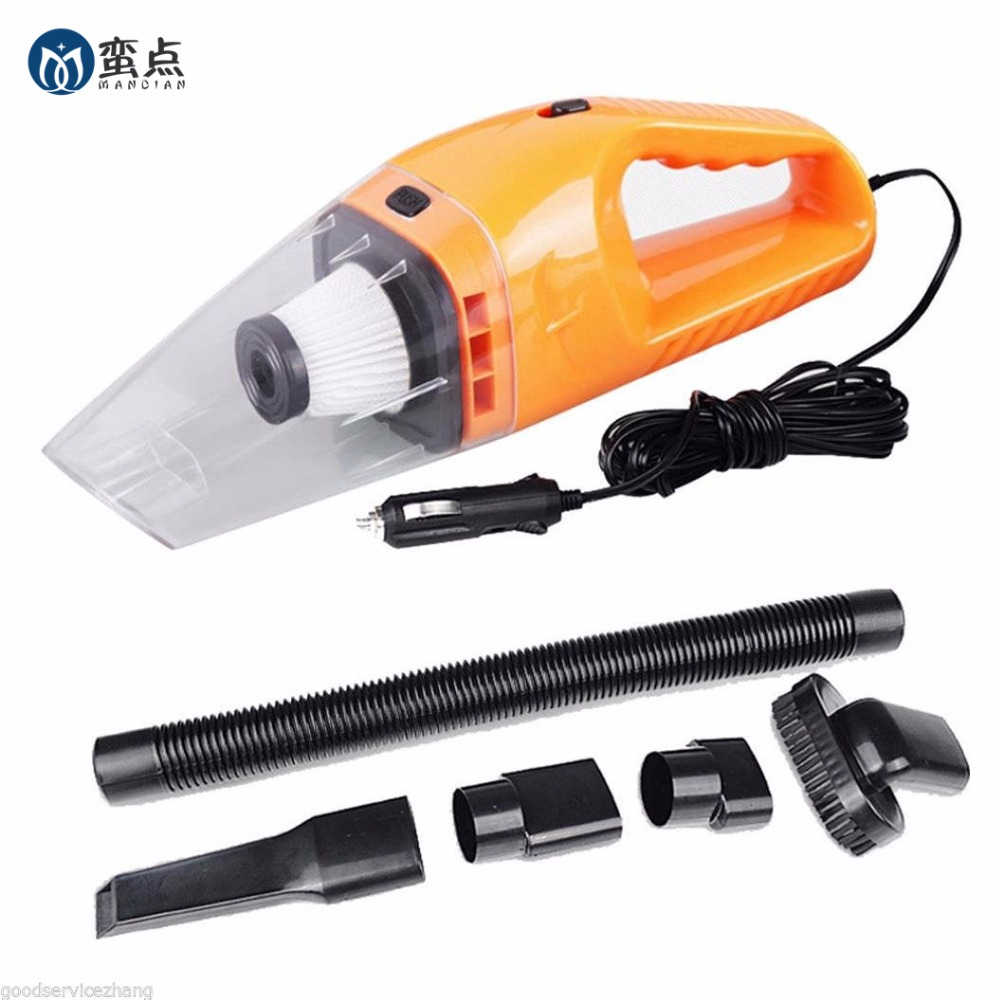 Car Vacuum Cleaner Wet Dry Portable Super Auto Dust Hand Vac Pet Hair Crumbs Cleaner Cyclone