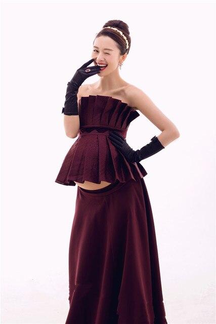 Neue Stil, Mode, Mutterschaft Lange Kleid Schwangere Fotografie ...