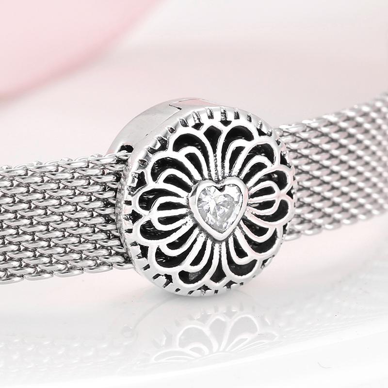Reflexions Clip Charm für Armbänder Echt Silber 925 Zirkon 12 Style Geschenk Neu