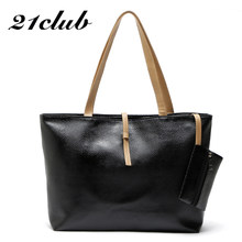 a4149bc281 21club brand medium large capacity ladies shoulder bags solid casual purse  hotsale office work shopping totes