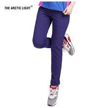 THE ARCTIC LIGHT Summer Outdoor Hiking Pants Rain Women Walking Mountaineering Travel Bike Riding Waterproof Trousers